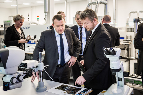 Fábrica danesa de microchips para audífonos Beltone
