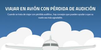 Viajar en avion con perdida de audicion