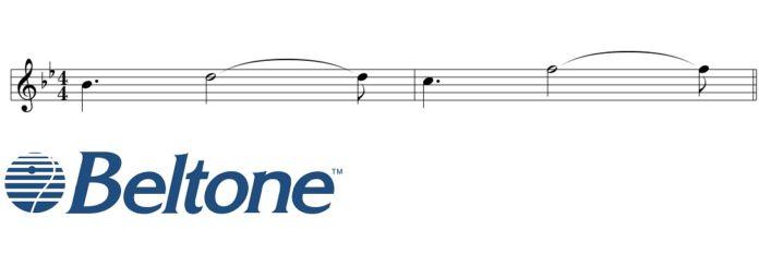 logotipo sonoro beltone